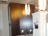 Custom Unit: Mirror & Linen Closet