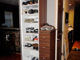Custom Unit: Shoe Closet
