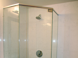 Neo Angle Shower door with Header