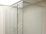 Semi-Frameless Shower Glass