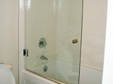 Frameless Tub Door